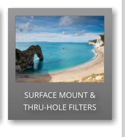 SURFACE MOUNT & THRU-HOLE FILTERS
